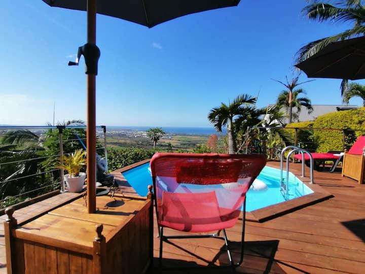 Panoramic - Maison de vacances avec vue imprenable