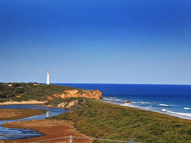 Satis Beach House, Great Ocean Road - Aireys Inlet - Rumah