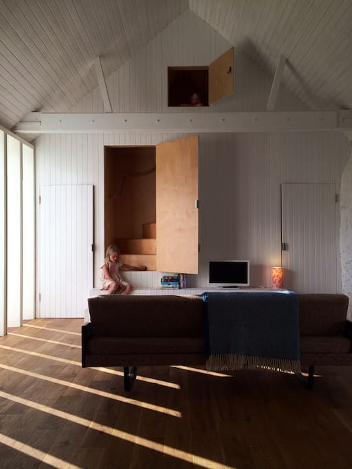 Architect refurbished norfolk barn en thursford north for Architects norfolk