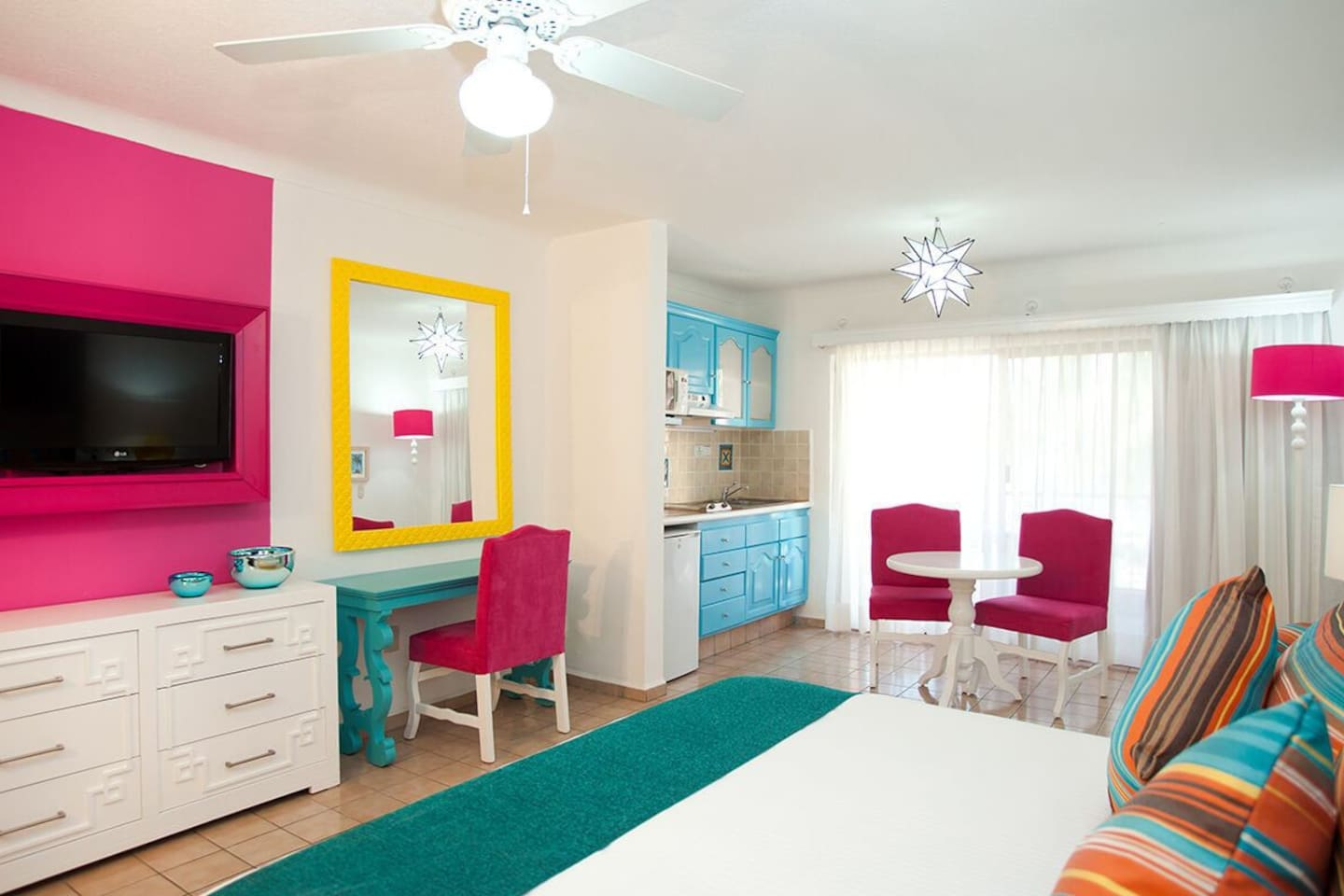 Junior Suite with either one King or two double beds