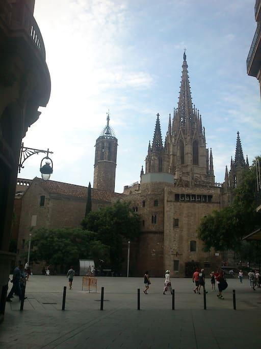 A 2 minutos de la Catedral!