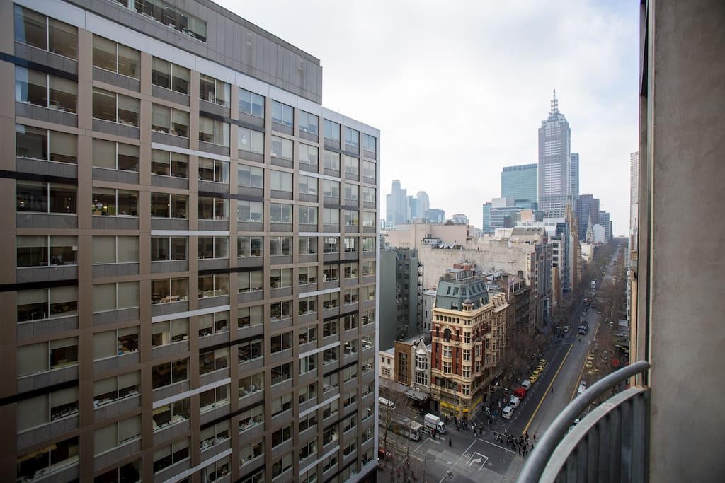 Fantastic Juliette balcony with views of Collins St