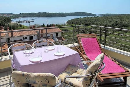apartment with a nice view - Vinkuran - Daire