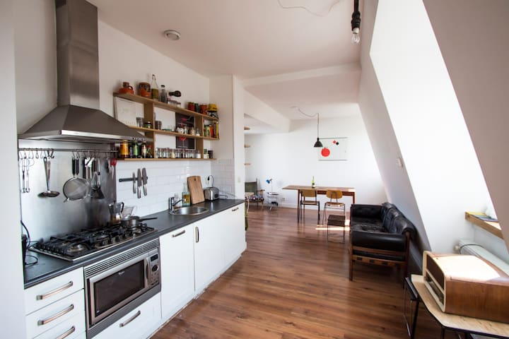 Great Apartment with roofgarden! - Amsterdam - Apartment