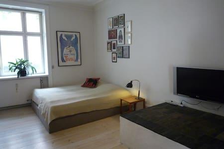 Nice & central Copenhagen. Room#1 - Frederiksberg - Apartment