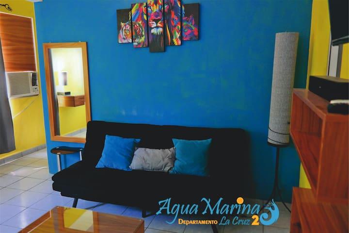 Departamento Aguamarina La Cruz 2