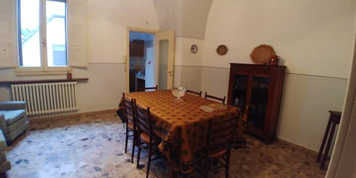 Apartment with 2 bedrooms in Sannicola, with wonderful city view, enclosed garden and WiFi - 5 km from the beach