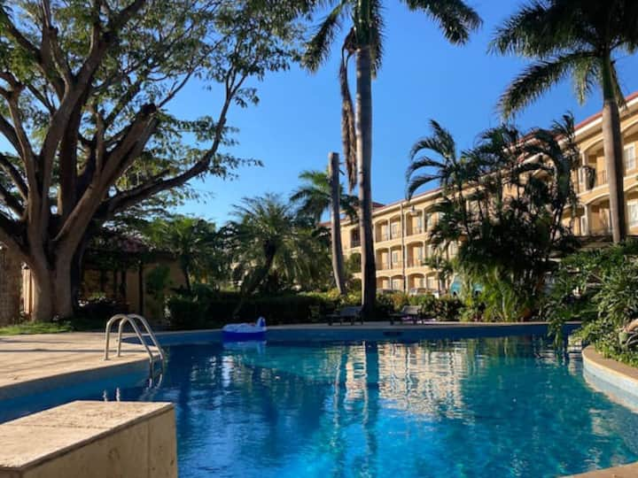 100mbps WIFI! 1 bed condo w pool/gym in Tamarindo
