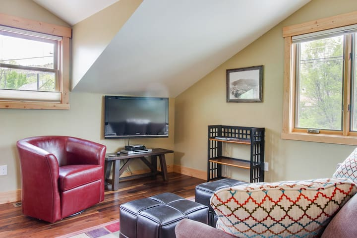 Deluxe dog-friendly condo 2 blocks from historic downtown area!