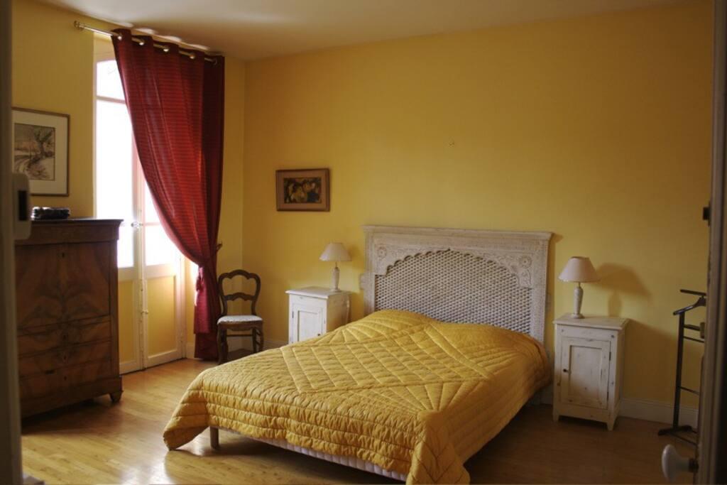 La chambre Toulouse lautrec spacieuse avec sa terrasse privée