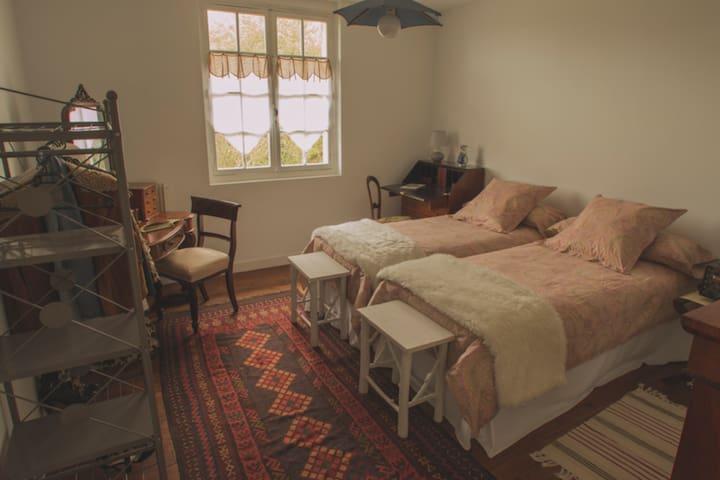 Chambre Camelia_ Maison Paloumère - Sallespisse - Bed & Breakfast