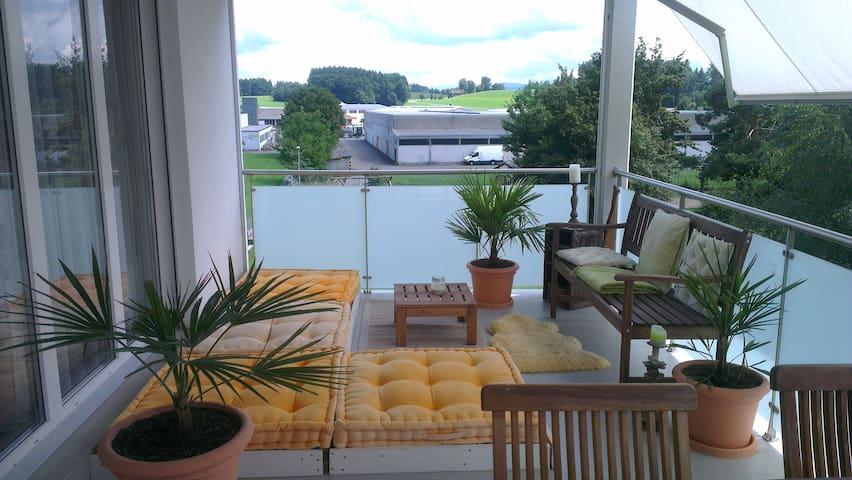 Moderne Wohnung in Zuzwil - Zuzwil - Flat