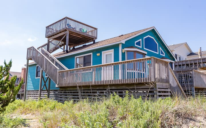 K0016 Escape to Paradise. Semi-Oceanfront, 3 BD, Ocean Views, Pets Allowed! | 3 Bedroom, 2 Bathroom