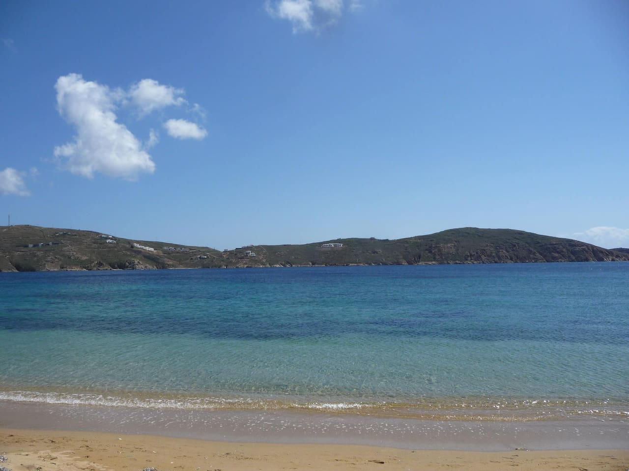 Beautiful beach ONLY 25 meters from the house & studio