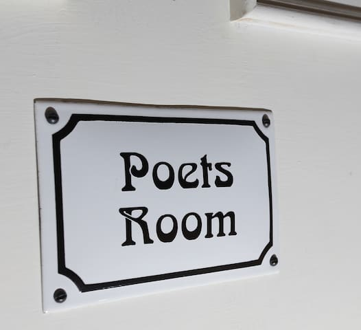 Poets' Room in the Old Cider House - Nether Stowey - Oda + Kahvaltı