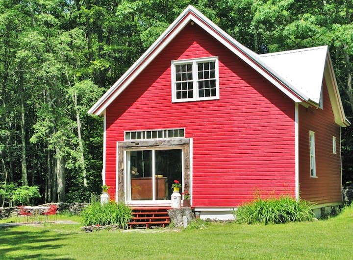 The Catskills Red Barn