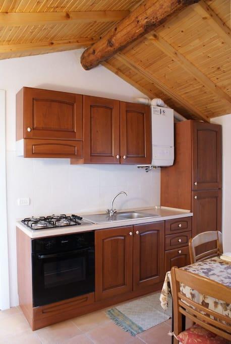 Appartamento della Dama con terrazza, camera matrimonila, cucina e bagno
