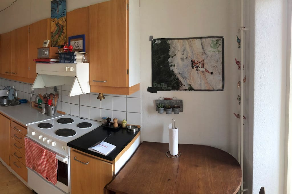 kitchen (with small balcony)