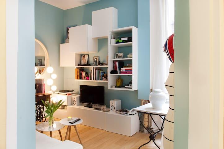 ★ Marais-2 pièces refait à neuf ! ★ - París - Apartamento