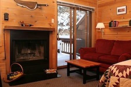Sweet Little Winthrop Cabin #5 with Fireplace - Winthrop - Stuga