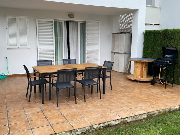 Apartamento con Jardín Privado, Retama Golf