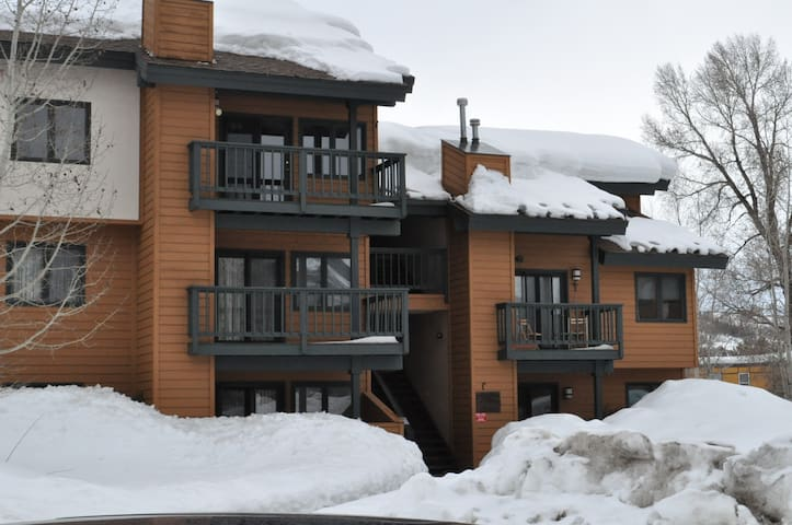 2BR+LOFT, GREAT FOR FAMILIES/GROUPS - Steamboat Springs - Leilighet