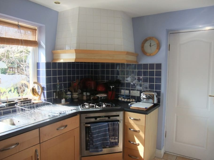 My kitchen, small but perfectly formed.