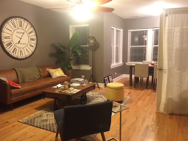 Charming 2bd Logan Square apartment - Chicago - Apto. en complejo residencial