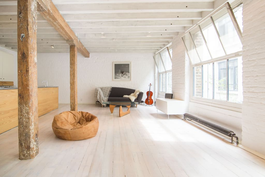 authentic shoreditch loft apartment lofts for rent in london