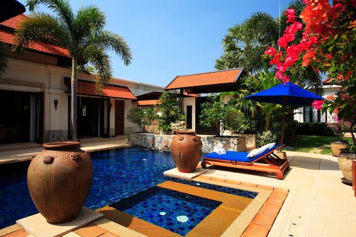 Villa Banyan, Sai Taan Villas Estate, Phuket - Thalang