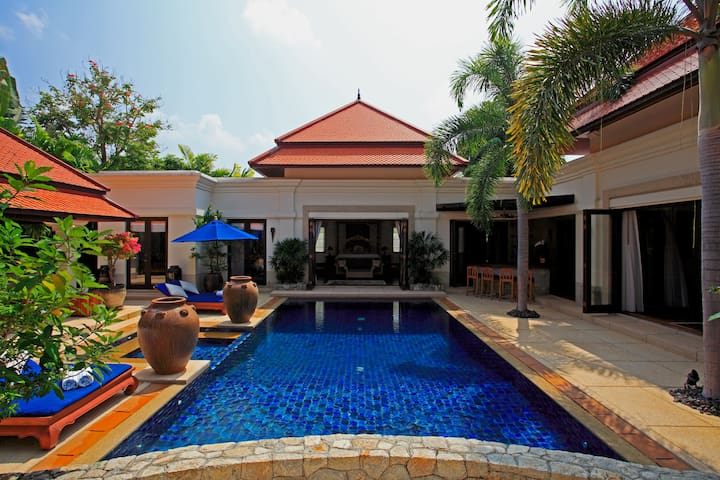Villa Banyan, Sai Taan Villas Estate, Phuket - Thalang - Villa
