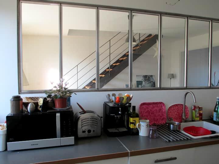 A small, bright room
