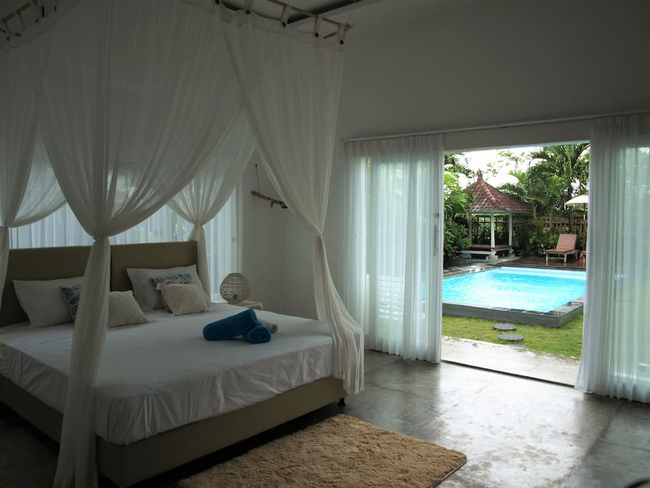 your room with direct pool access