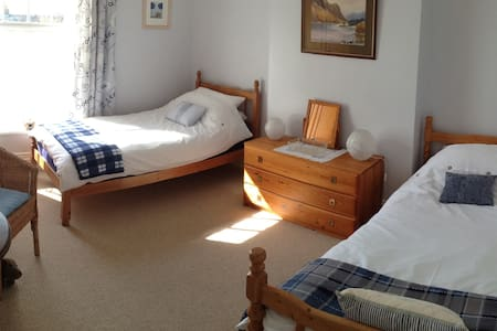 Spotless twin room. - Belper - Hus