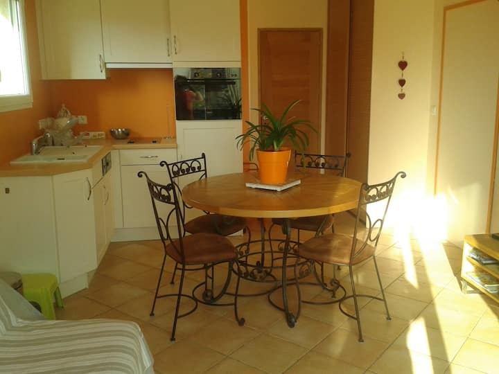 Cosy appartement 3* near Lake Geneva & mountains