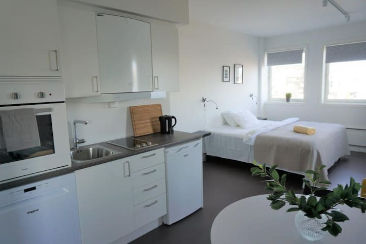 Brand new studio apartments in Tromsø centre! Ap9
