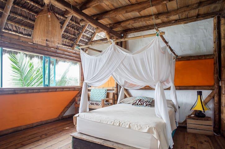 PUNTA DE ENCUENTRO - SOL - Private Double Bed Room - 1st Floor