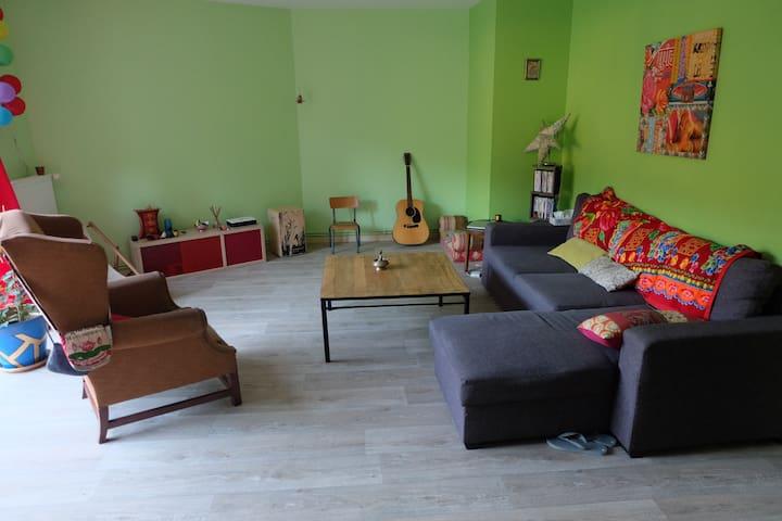 Appartement de 115m2 à la porte des Hautes Vosges - Plombières-les-Bains - Apartamento
