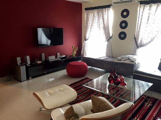 Minimalist but cozy apartment