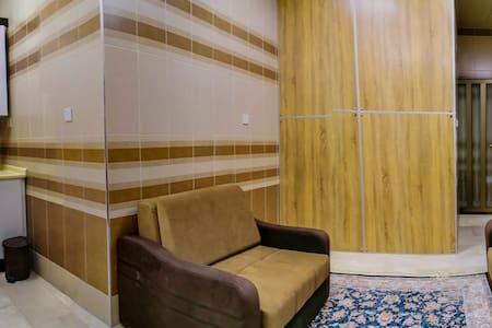 5 guests Modern 1 Brd / Imam Hussein / 4 min. Walk