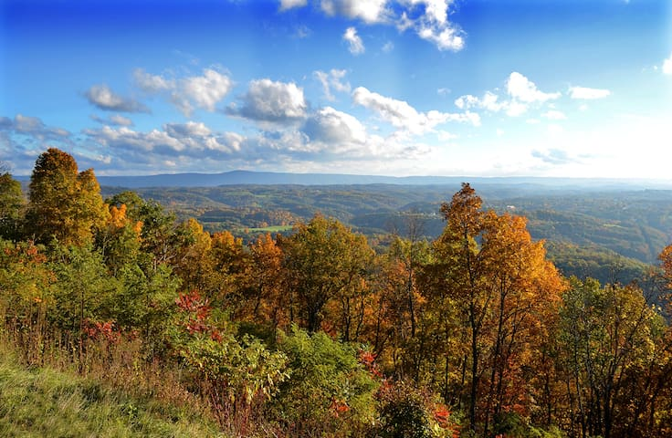 Awesome Magic Mountain Top Retreat - 35 acres - Lerona - House