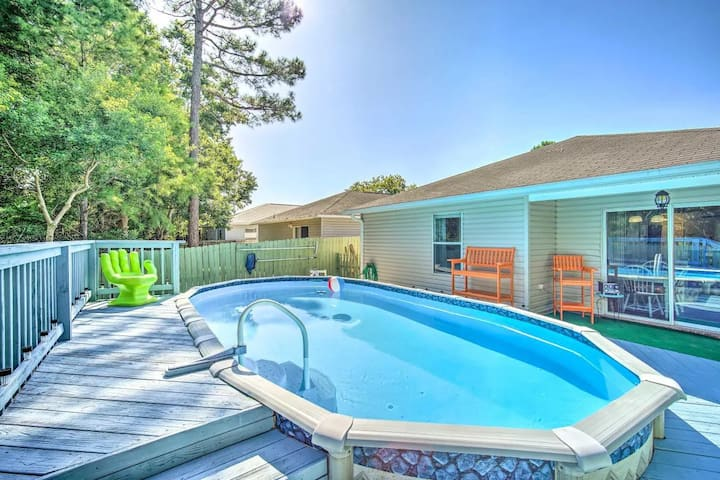 Family Summer Pool House-8m Johnson Bch -Must see