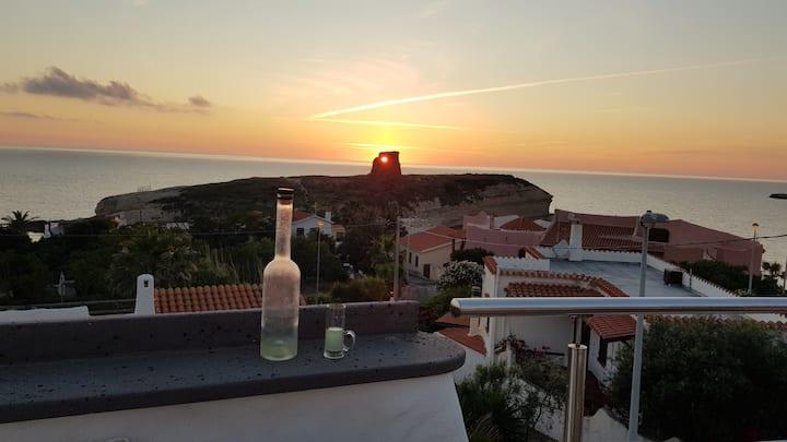 Villa Manuela sul mare, terrazza panoramica P3040