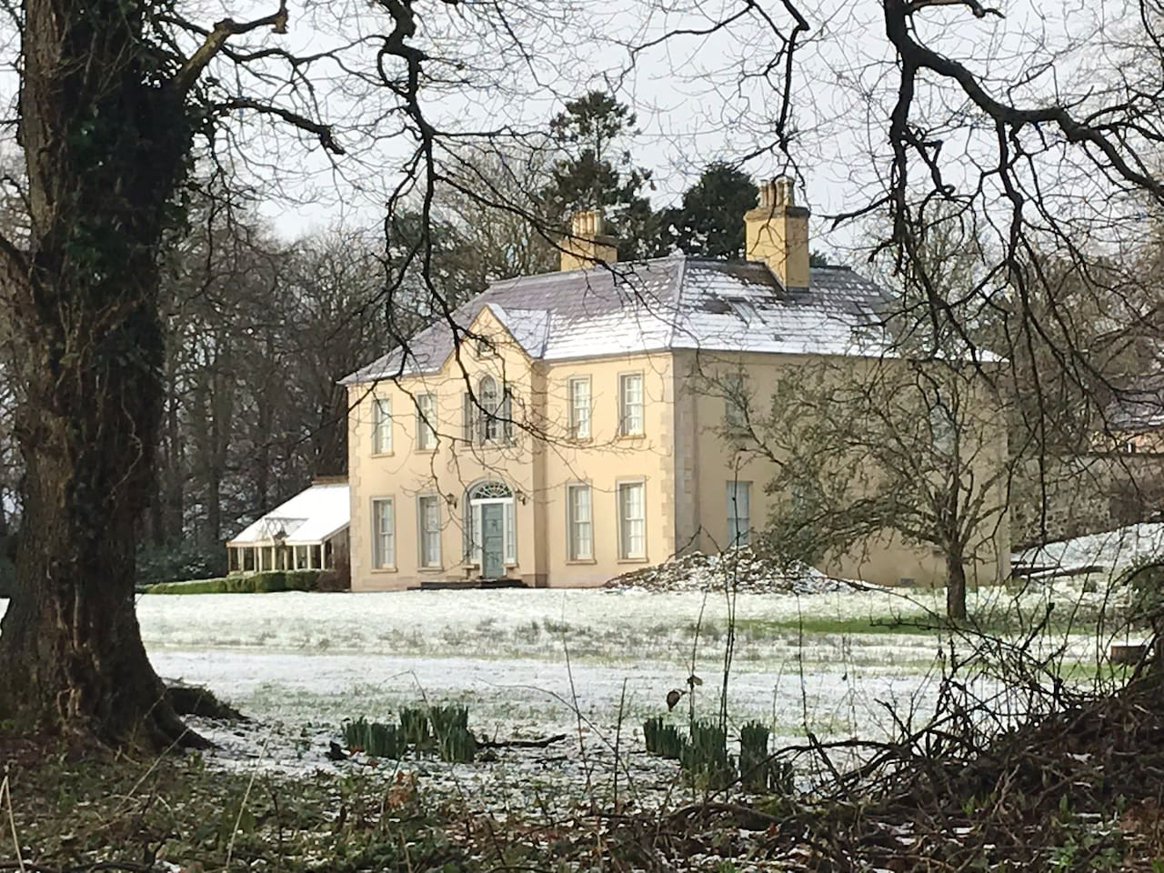 Bovagh House in the Winter
