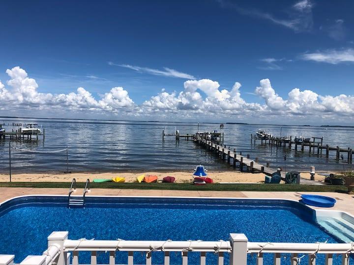 Beautiful Beachfront Home