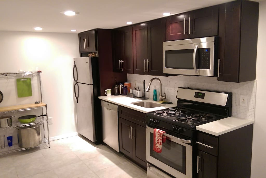 You'll have full access to a newly renovated kitchen, cared for by a resident who LOVES to cook!