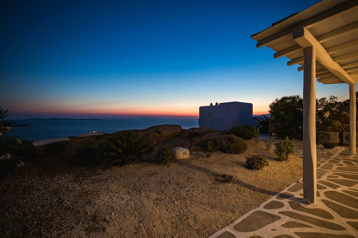 The Beautiful Sunset House