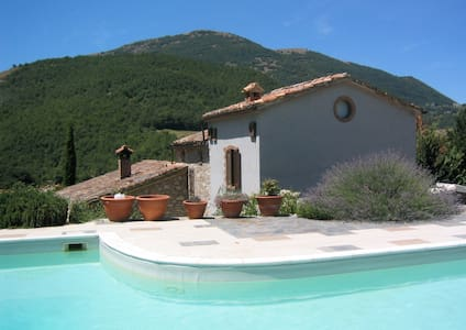 Beautiful Umbrian villa with pool - Umbertide - 别墅