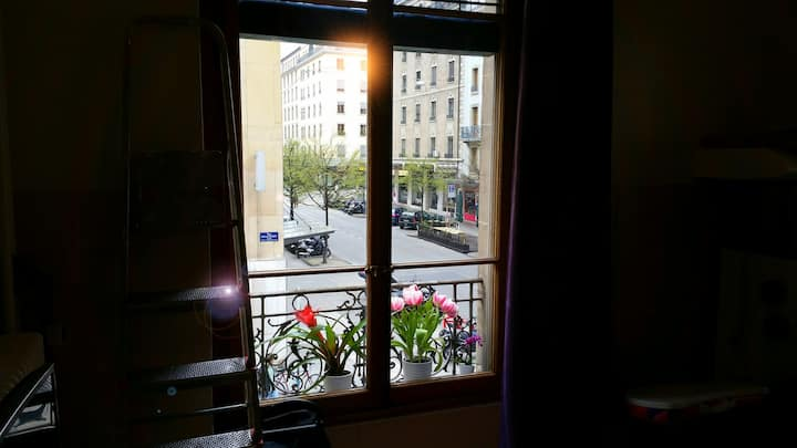 The most central place in town