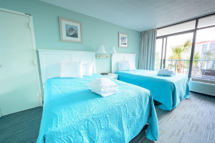 ⭐ Sand Dunes Resort, Low 2nd Floor, Ocean View Studio